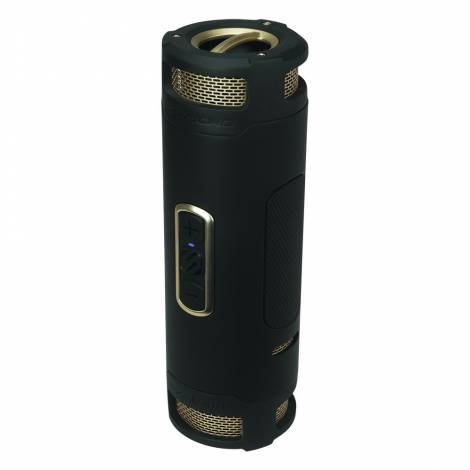 BoomBOTTLE +  Rugged Wireless Portable Speaker Black/Gold  BTBPBKGDI