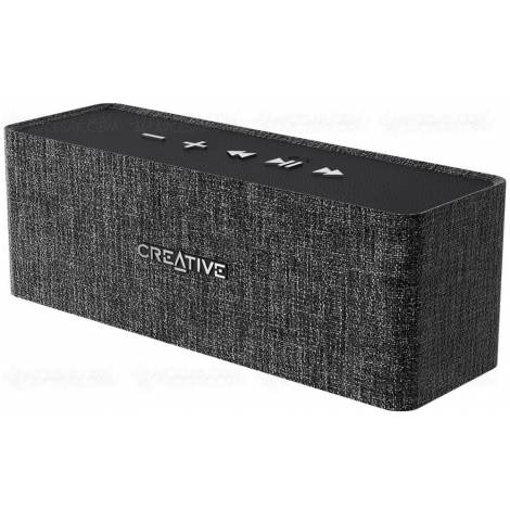 Creative Speaker Nuno Portable Bluetooth Heather Black (51MF8270AA000)