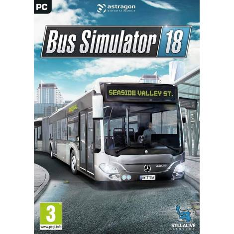 BUS SIMULATOR 18 (Cd Key Only) (PC)