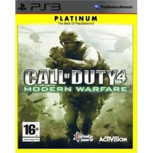 Call Of Duty 4: Modern Warfare (PS3) (Platinum)