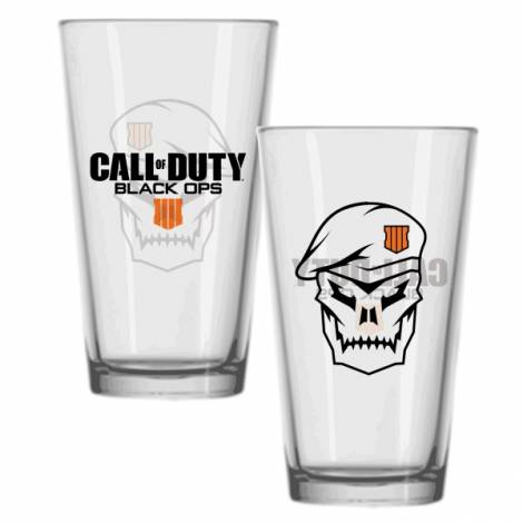Call of Duty: Black Ops 4 Pint Glass