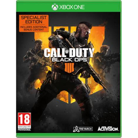 Call of Duty: Black Ops 4 IIII (Specialist Edition) (Xbox One)