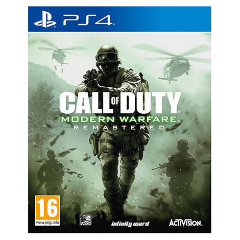 Call Of Duty : Modern Warfare Remastered (PS4)