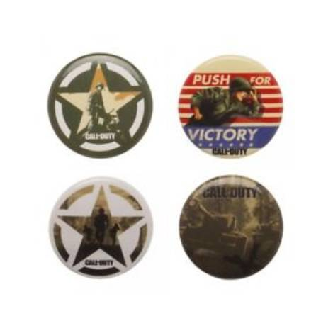 Call of Duty WWII - Supply Drop Pin Badge Set (inc. 5 Metal Pins)
