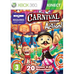 Carnival Games: In Action(Kinect) (XBOX 360)