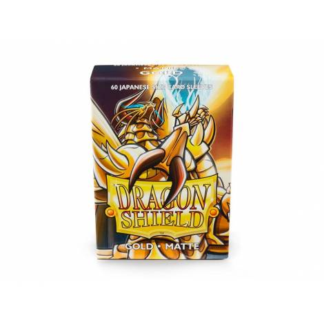 CCG:DRAGON SHIELD GOLD SMALL MATTE .60-CT