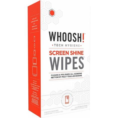 CLEANER WHOOSH! SCREEN SHINE WIPES 30p (1CSWP30CT)