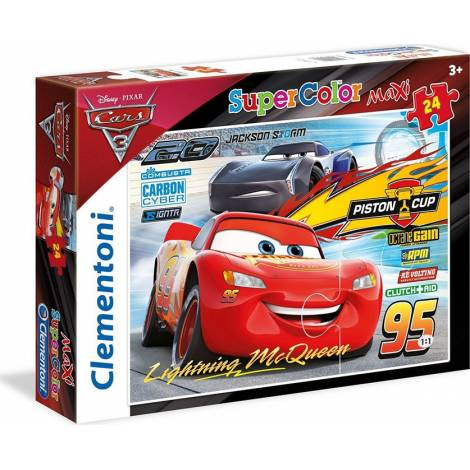 CLEMENTONI ΠΑΖΛ 24 MAXI CARS FRIENDS FOR THE WIN (1200-24489)