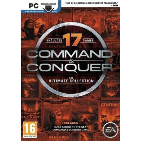 COMMAND AND CONQUER : THE ULTIMATE COLLECTION  (PC)