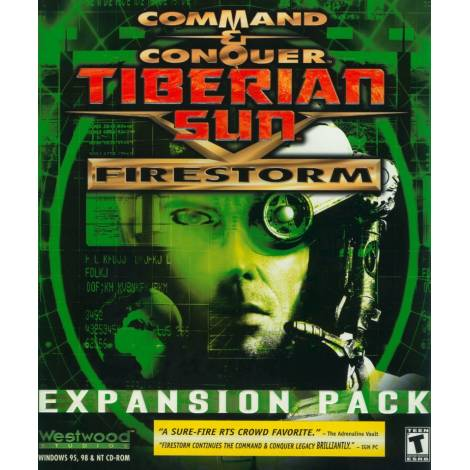 Command & Conquer:Tiberian Sun: Firestorm Expansion Pack (PC) (CD Μονο)