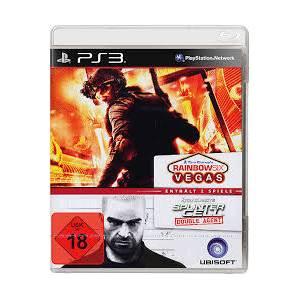 Compilation : Tom Clancy's : Splinter Cell Double Agent & Rainbow Six Vegas (PS3)