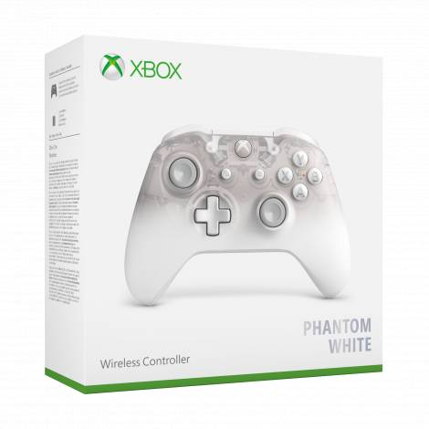CONTROLLER WIRELESS GHOST 2 PHANTOM WHITE (Xbox One)