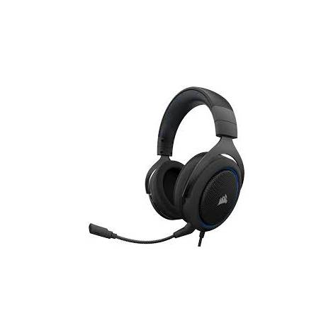Corsair HS50 Pro Stereo Blue/Black Headset (PS4,PC, Switch, Mobile) (CA-9011217-EU)