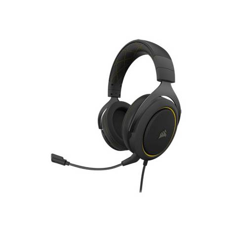 Corsair HS60 Pro 7,1 Surround Headset - Yellow/Black (PC) (CA-9011214-EU)