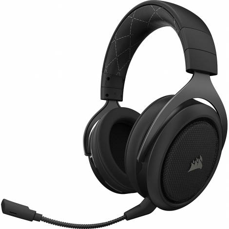 Corsair HS70 Wireless Gaming Headset with 7.1 Surround Sound - Carbon