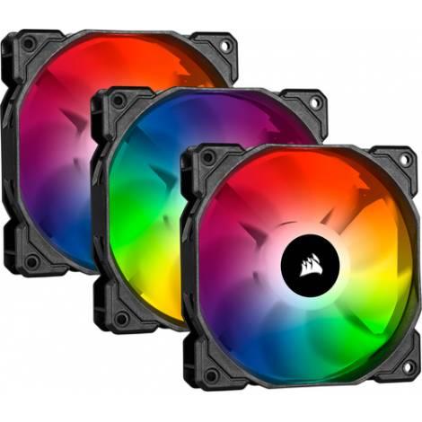 Corsair iCUE SP120 RGB PRO Performance 120mm Triple Fan Kit with Lighting Node CORE (CO-9050094-WW)