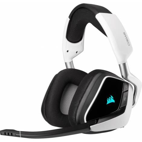 Corsair Void RGB Elite Surround Wireless Headset - White/Black (CA-9011202-EU) (PC,PS4)