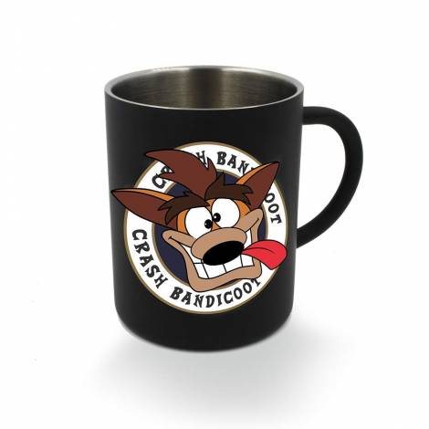 Crash Bandicoot - Black Crash Steel Mug