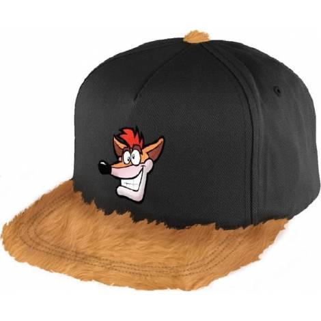 Crash Bandicoot - Furry Crash Snapback Cap