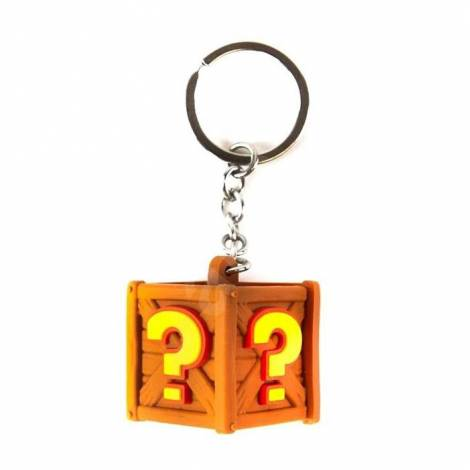 Crash Team Racing - Crate Keyring Keychain