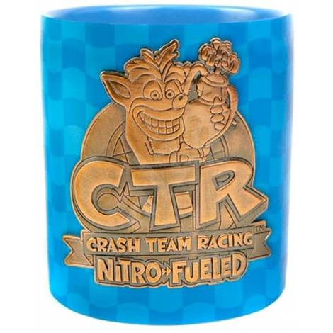Crash Team Racing - Metal Badge Mug