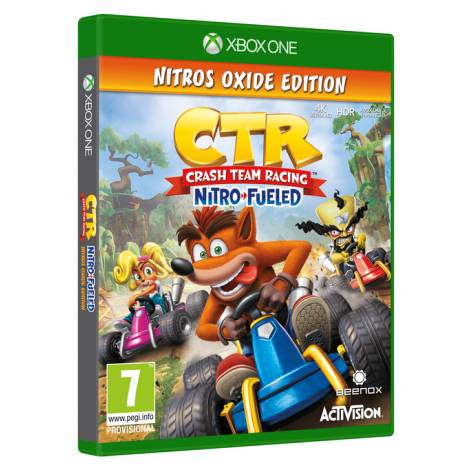 Crash Team Racing: Nitro-Fueled (Nitros Oxide Edition) (Xbox One)