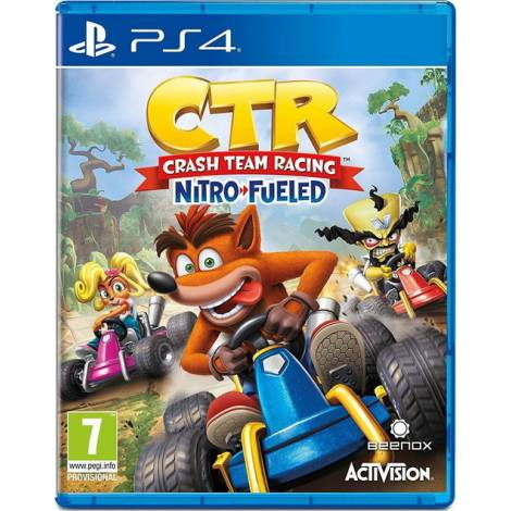 Crash Team Racing Nitro-Fueled (PS4) (Day One Edition) &  τα μοναδικά γυαλιά του Crash
