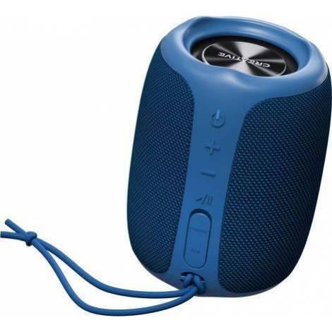 CREATIVE MUVO PLAY PORTABLE AND WATERPROOF BLUETOOTH SPEAKER BLUE (51MF8365AA001)