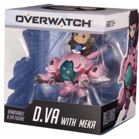 Cute But Deadly Figure - D.Va w/ Mekka