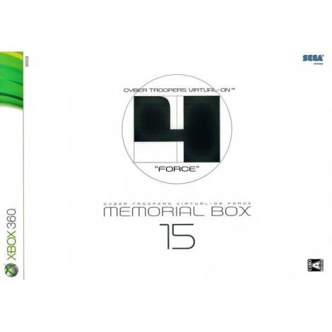 Cyber Troopers Virtual-On Force Memorial Box 15