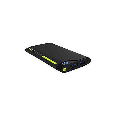 Cygnett 6000 mAh 2 Ports/2.1 A Charge Up Polymer Digital Portable Charger - Green/Grey