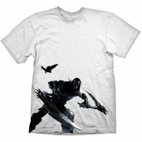 Darksiders - Death Keyart T-Shirt - Size S/M/L/XL/XXL