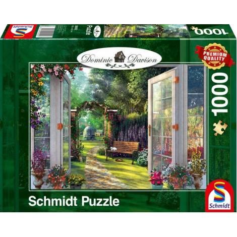 Davinson View Into The Enchanted Garden 1000pcs (59592) Schmidt