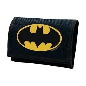 DC COMICS - BATMAN LOGO NAVY KIDS WALLET (ABYBAG123)