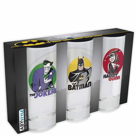 DC Comics - Set of 3 Glasses (ABYVER104)