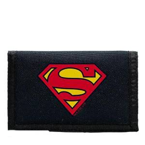 DC COMICS - SUPERMAN LOGO NAVY KIDS WALLET (ABYBAG124)