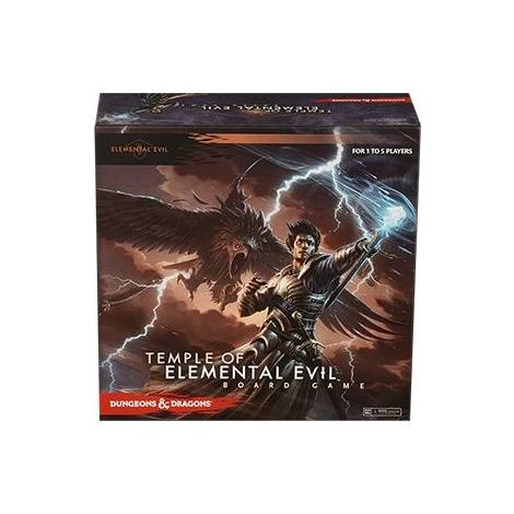 D&D : TEMPLE OF THE ELEMENTAL EVIL BOARD GAME