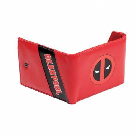 Deadpool - Red Trifold Wallet (MW261704DEA)