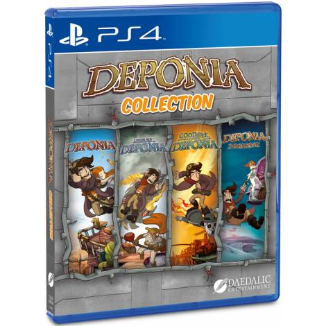 Deponia Collection Edition (PS4)