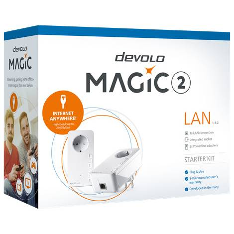 Devolo - Magic 2 LAN 1-1-2 Powerline (8267)