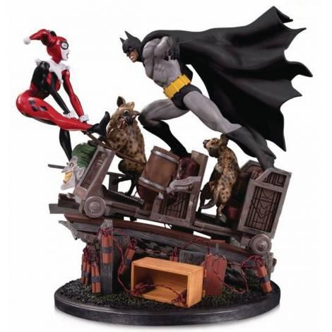 Diamond Batman VS Harley Quinn Battle Second Edition Statue (AUG190702)