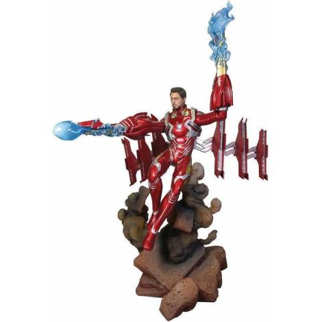 Diamond Comics Marvel Gallery Marvel Avengers Infinity War - Iron Man Mk50 Unmasked Deluxe PVC Diorama (JAN192548)