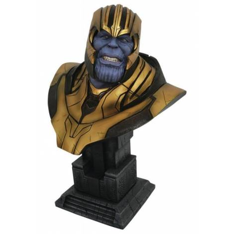 Diamond Select Toys Legends In 3D Marvel Avengers 4 Thanos 1/2 Scale Bust (OCT192542)