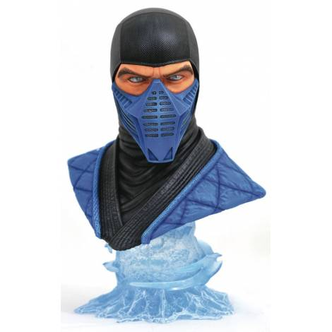 Diamond Select Toys: Mortal Kombat 11 Legends In 3D Sub Zero 1/2 Scale Bust (SEP192490)
