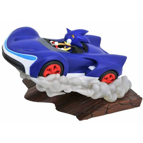 Diamond Select Toys Sonic Racers Gallery - Sonic PVC Statue (AUG192723)