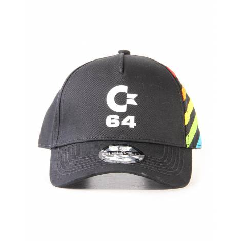 Difuzed Commodore 64 - Logo Curved Bill Cap (BA514684C64)
