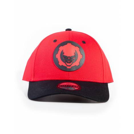 Difuzed Gears Of War - Hydro Red Omen Adjustable Cap (BA464843GOW)