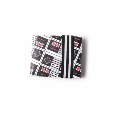Difuzed NES - Controller AOP Bifold Wallet (MW481632NTN)