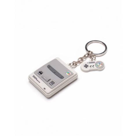 Difuzed Nintendo - Snes 3D Rubber Keychain (KE323361NTN)
