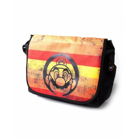 Difuzed Nintendo - Super Mario Retro Striped Messengerbag (MB710784NTN)